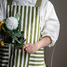Модные фартуки на ремешке кухонный фартук хлопковый для выпечки