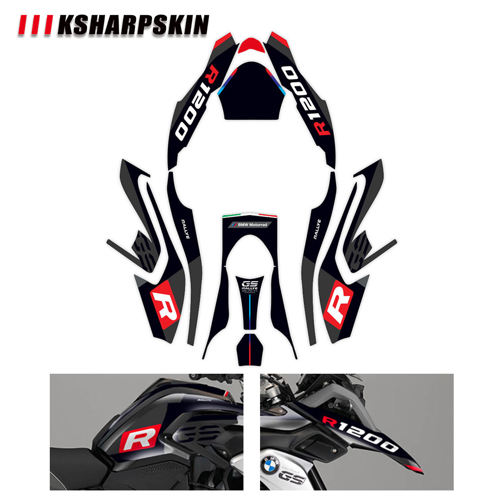 Front body waterproof decal motorcycle fairing sticker packaging super sticky kit for BMW R1200GS R1200 GS LC 2013-2016