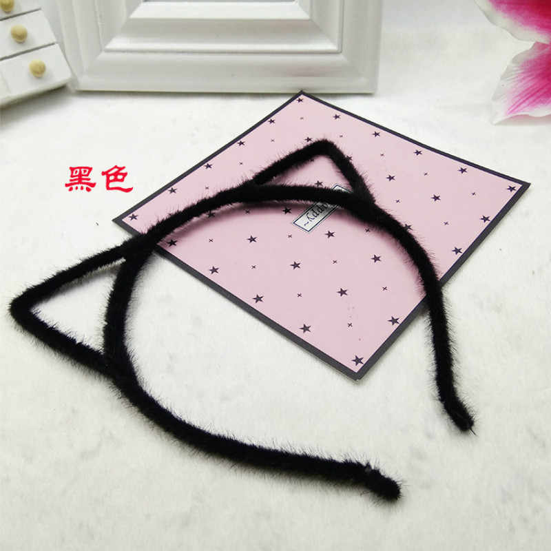 1 PCS Stylish Women Girls Cat Ears Headband Accessories Sexy Head Band Multicolor Styling Tools Headwear