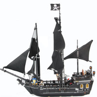 16006 875pcs Pirates of The The Black Pearl Ship Model Building Blocks Compatible with 4184 Children Kids Toys Gifts Decoraiton