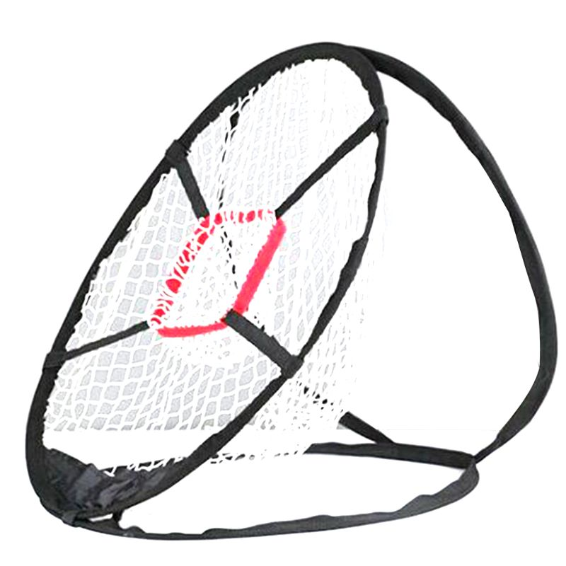 1 Pc Dacron Pop-Up Golf Chipping Net Tainer Aid Foldable Target Net For Accuracy Swing Practice Golf Accessories