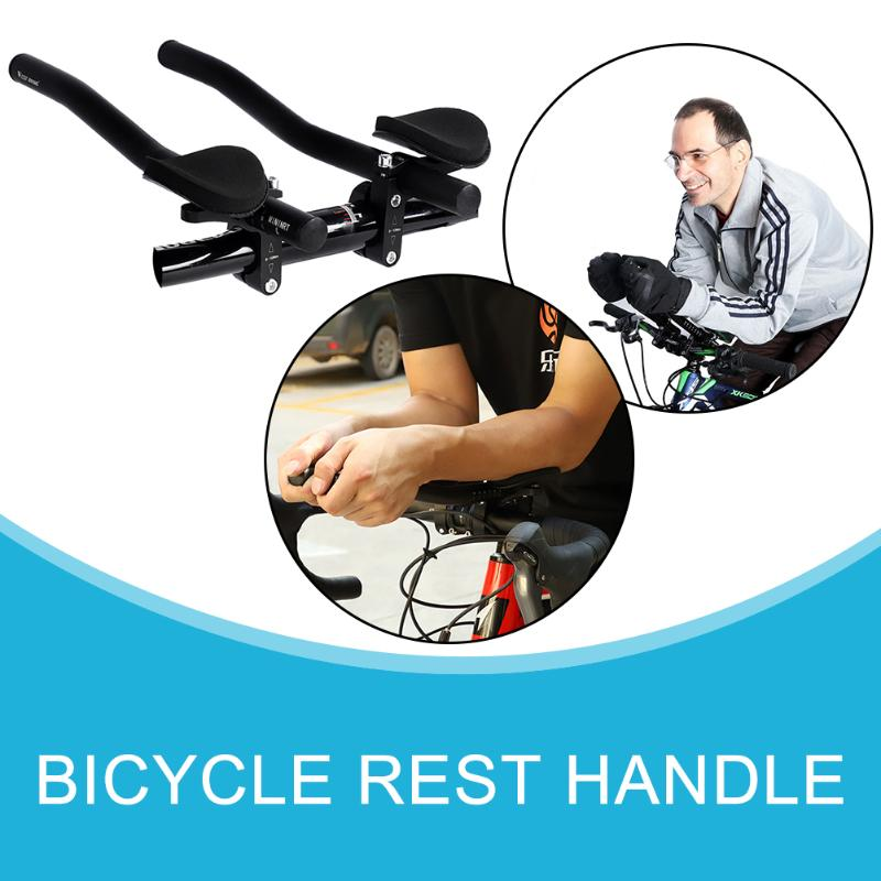 MTB Road Bike TT Time Trial Triathlon Aero Bar Aerobar Rest Handlebar Racing HOT