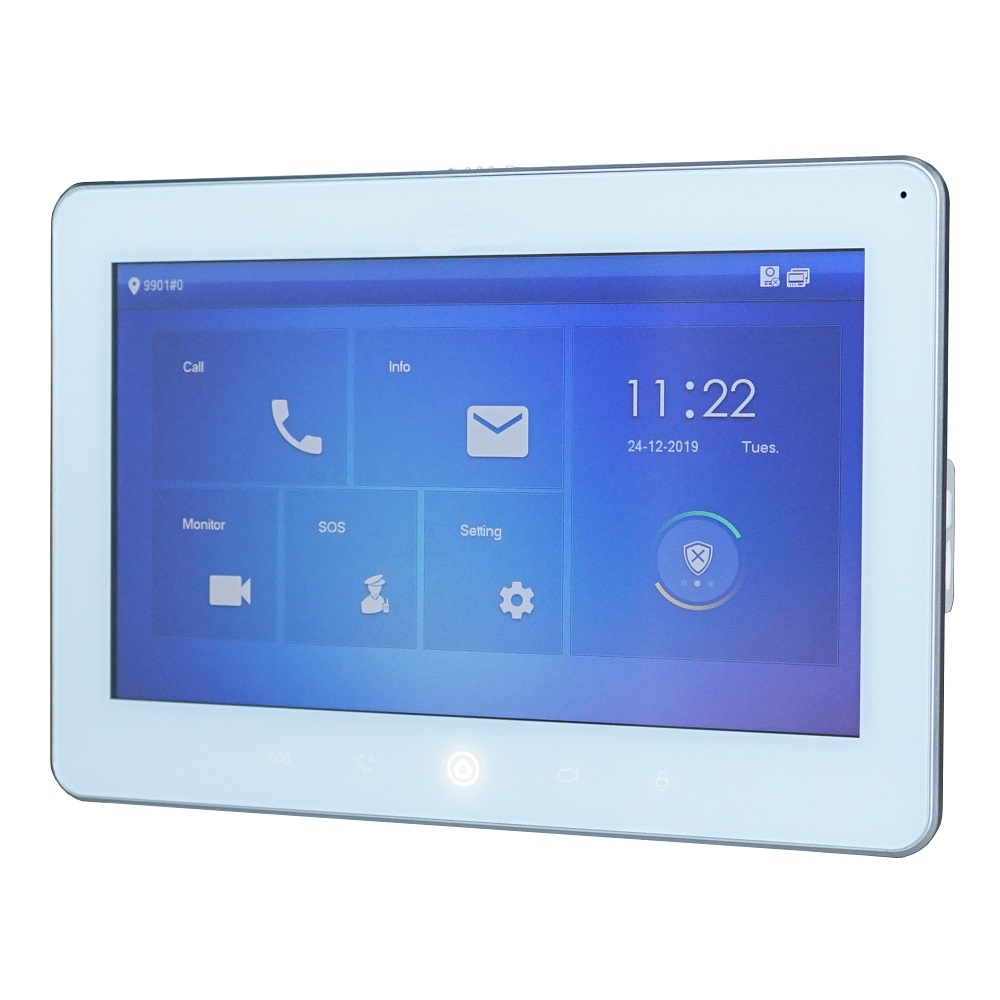 DH Logo VTH5241DW-S 10inch Indoor Monitor ,SIP Version ,IP Doorbell Monitor,IP Video Intercom Monitor,wired Doorbell Monitor