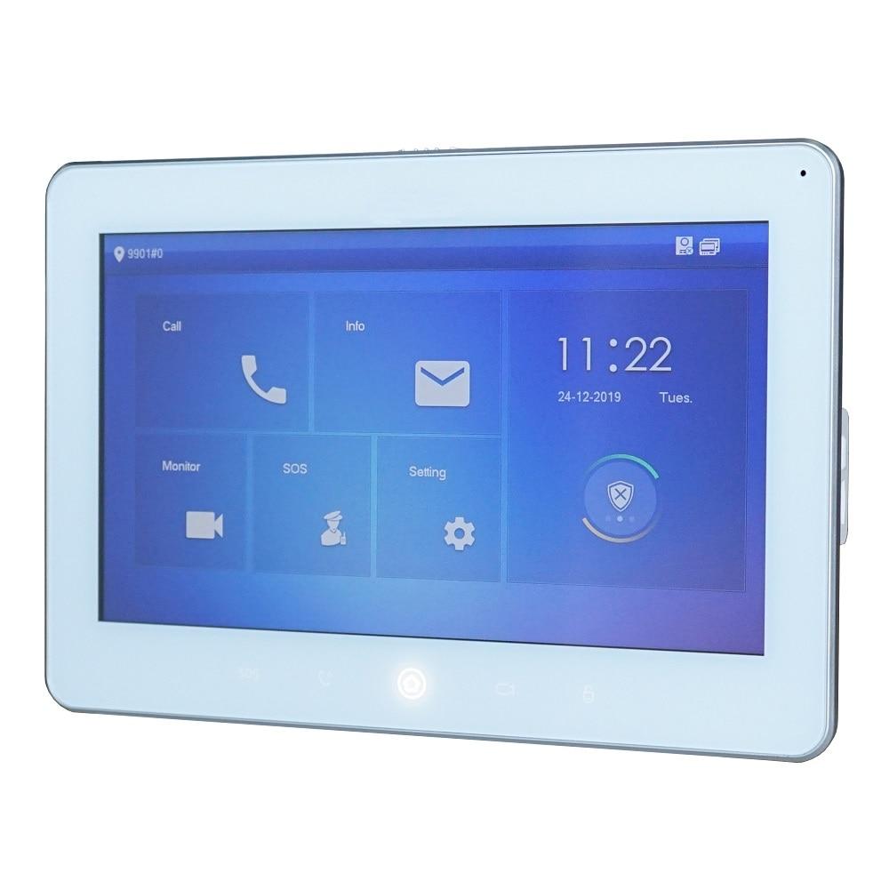DH Logo VTH5241DW-S 10inch Indoor Monitor ,SIP Version ,IP Doorbell Monitor,IP Video Intercom Monitor,wired Doorbell Monitor