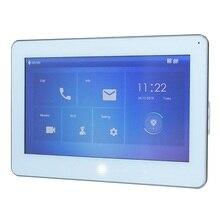 Monitor interno 10 polegadas, monitor ip campainha, monitor de vídeo interfone, versão sip, VTH5241DW S monitor campainha com fio