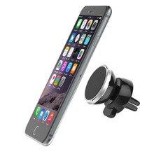 Магнитный держатель для телефона, поддержка телефона, держатель на вентиляционное отверстие автомобиля, вращающийся на 360 градусов магнит, подставка для сотового телефона, держатель для huawei iPhone