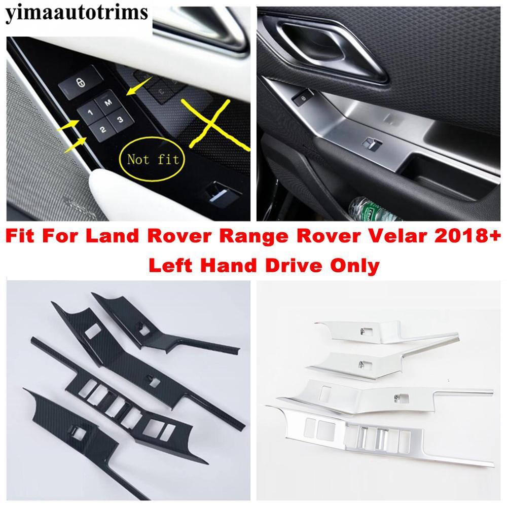Купить углеродное волокно/матовый интерьер для land rover range velar
