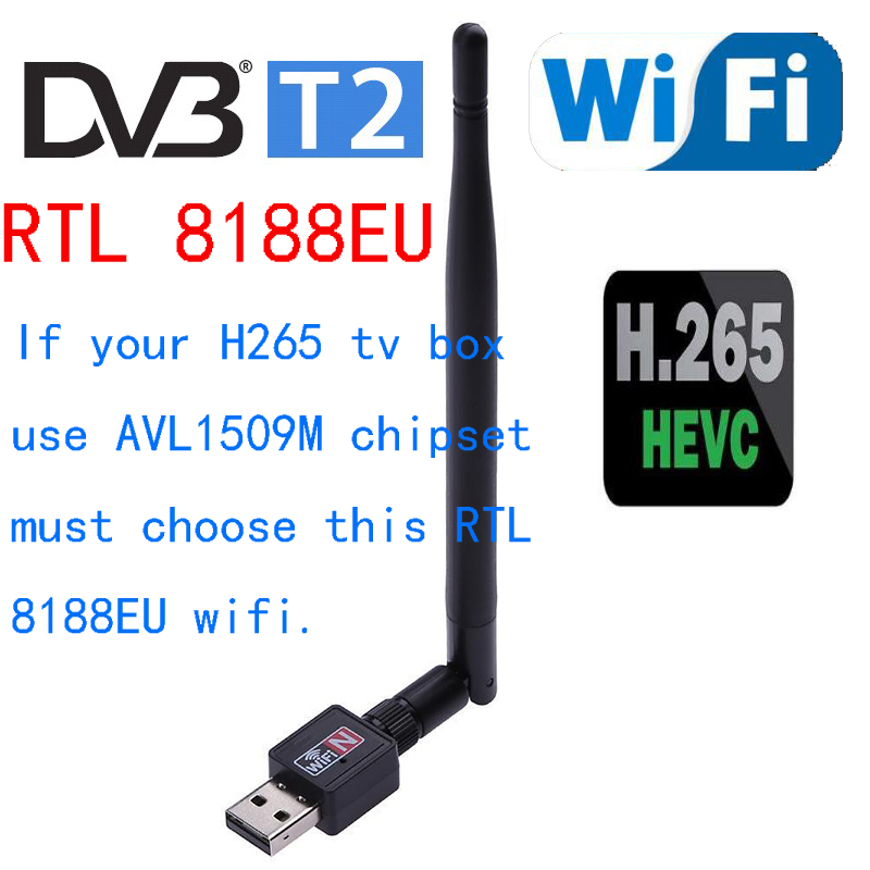 150M Usb Wireless Network Card Rtl8188eu Chip Wireless Receiver Wifi Signal Wireless Adapter For Pc And Set Top Box