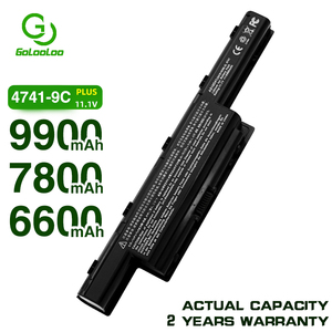9900mAh Laptop Battery for Acer AS10D31 AS10d41 AS10D51 AS10D61 AS10D71 AS10D75 AS10D81 V3 771g 5560 5750 5551G 5560G 5750G
