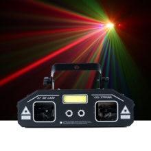 DJ ST 3 в 1 лазерный сканер, диско-лампа Светильник проектор света, DJ контроллер DMX512 бар, светильник со спецэффектами KTV