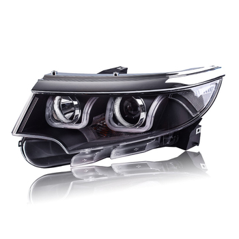 Car Styling for Ford EDGE 2010-2014 Headlights EDGE LIMITED LED Headlight DRL Lens Double Beam H7 HID Xenon bi xenon lens