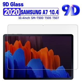 Premium tablet protetor de tela para samsung galaxy tab a7 10.4 polegada 2020 SM-T500 t505 t507 filme de vidro temperado para samsung t500