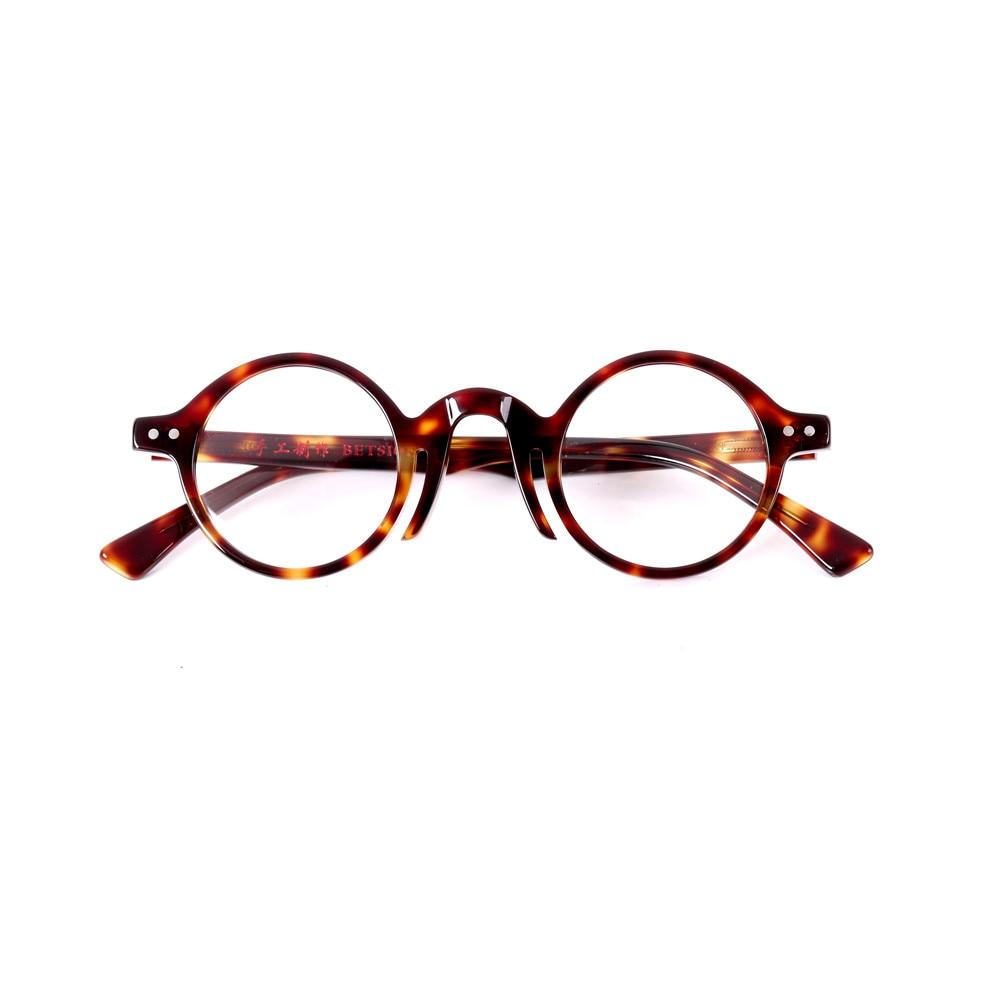 Маленькие винтажные круглые 40 мм очки для мужчин и женщин ручной