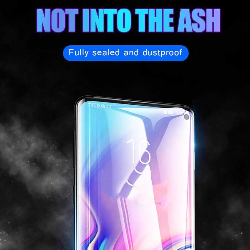 11D Vòng Cung Edge Full Kính Cường Lực Dành Cho Samsung Galaxy Samsung Galaxy S10 Plus S10 Lite Bảo Vệ Màn Hình Trong Cho Samsung Galaxy m10 M20 M30