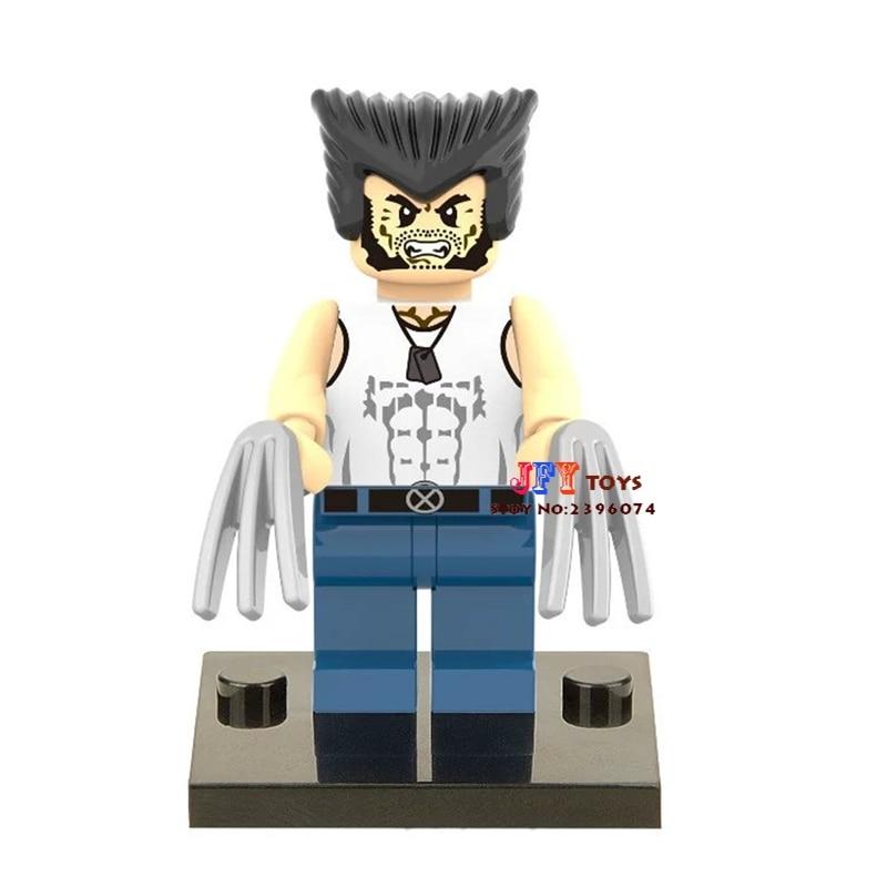 Single Sale Superhero Wolverine SDCC Building Blocks Model Bricks Toys For Children Action Figures