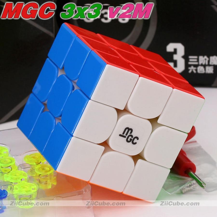 quebra-cabeças mágicos ímã cubo yj mgc 2x2