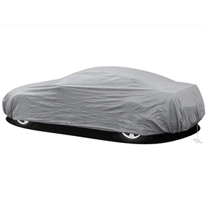 Image 4 - Universal Full Car Covers Snow Ice Dust Sun UV Shade Cover Foldable Light Silver Size S XXL Auto Car Outdoor Protector Cover dfd