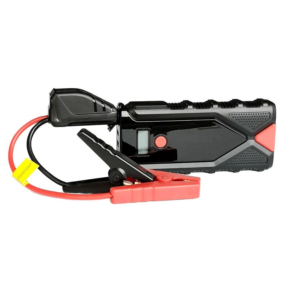 Démarreur de saut de voiture de secours 12V 2000A batterie externe dispositif de démarrage Portable chargeur de batterie de voiture démarreur de voiture Diesel à essence