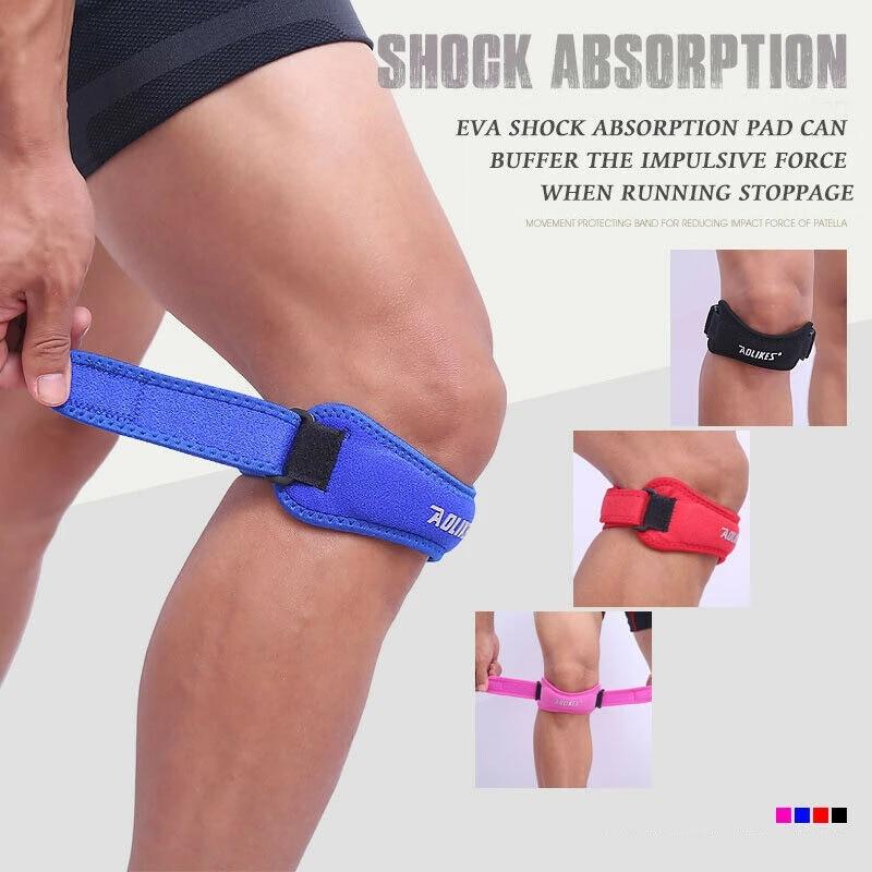 Soft Brace Knee Protector Belt Adjustable Patella Tendon Strap Guard Support Pad
