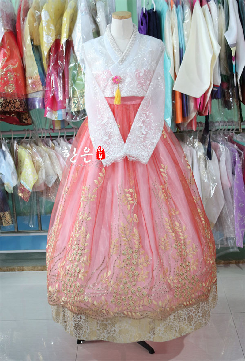 Korea Imported Fabrics / The Latest Improved Hanbok / Bride Hanbok / Stage Costumes