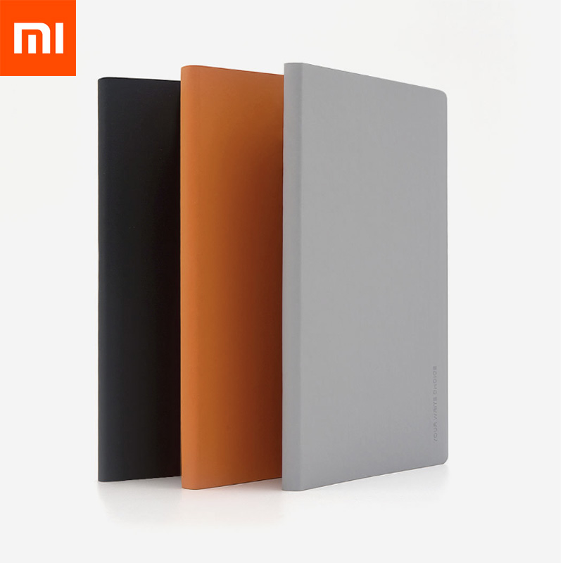 2Pcs lot Xiaomi Mijia Kaco Green Noble Paper NoteBook PU Cover Slot Book for Office Travel Gift Luxury Written Paper Diary Book in Smart Remote Control from Consumer Electronics
