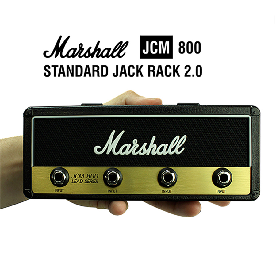 Schlüssel Lagerung Marshall Gitarre Keychain Halter Jack II Rack 2,0 Elektrische Hängen Key-Rack Amp Vintage Verstärker JCM800 Standard