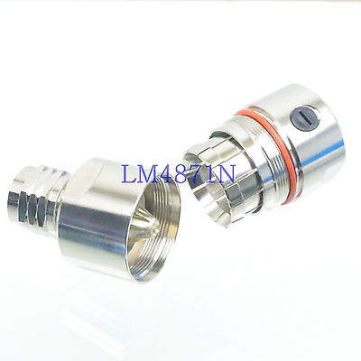 DHL/EMS 8 Pcs Connector N Male Clamp 7/8