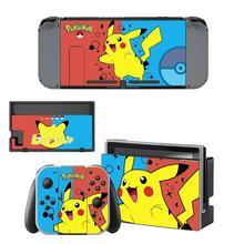 Pokemon Go Pikachu Nintendoswitch Skin Nintend Switch Stickers Decal for Nintendo Switch Console Joy con Controller