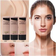 цена на 35ml Face Concealer Primer Foundation Makeup Base Liquid Whitening Moisturizer Waterproof Lasting Brighten BB Cream maquillaje