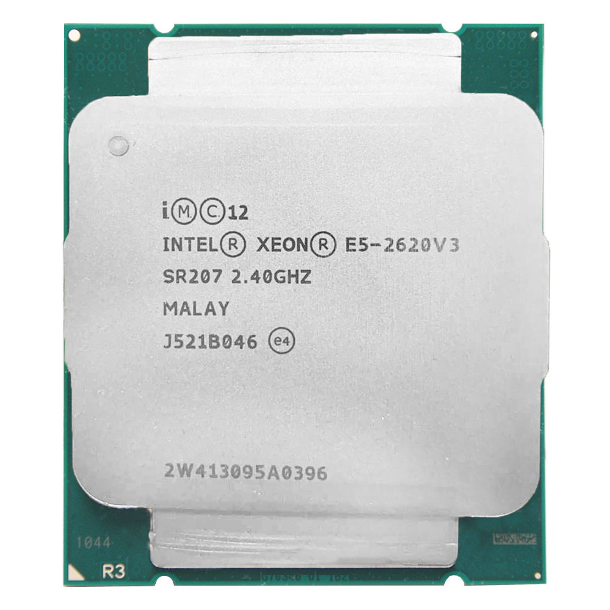 Intel Xeon E5 2620 V3 E5 2620V3 E5-2620V3 Processor 2.4Ghz 6 Core 85W Socket LGA 2011-3 CPU Suitable X99 Motherboard