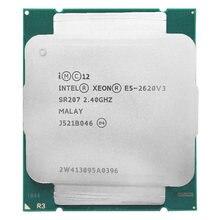 Центральный процессор Intel Xeon E5 2620 V3 E5 2620V3, 2,4 ГГц, 6 ядер, 85 Вт, разъем LGA 2011-3, подходит для материнской платы X99