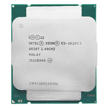 Intel Xeon E5 2620 V3 E5 2620V3 E5-2620V3 Processor 2.4Ghz 6 Core 85W Socket LGA 2011-3 CPU Suitable X99 motherboard