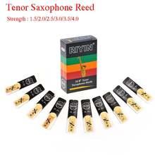 10 шт тенор Саксофон reeds bb tone strength 15 20 25 30 35 40