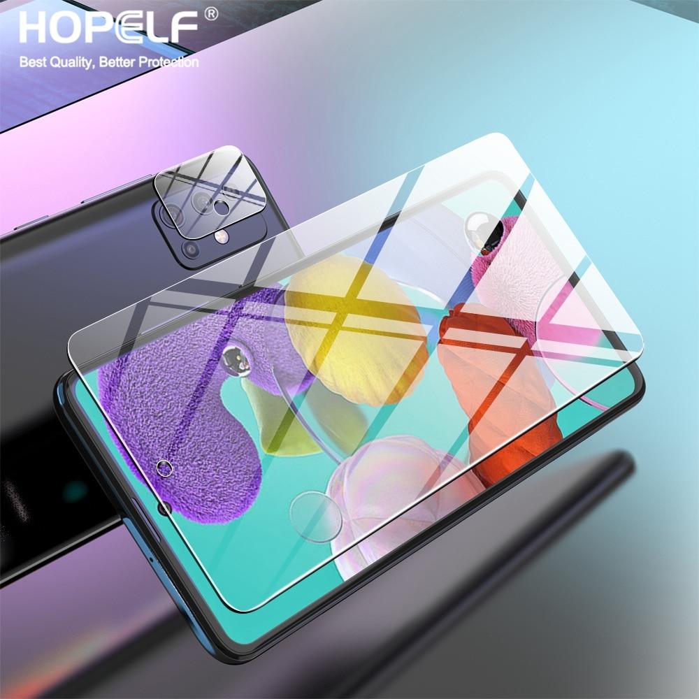 Закаленное стекло для Samsung A51, стекло A72, A32, A71 для Samsung A51, защита экрана A21s, M31, A50, стекло для Samsung Galaxy A52, M31s