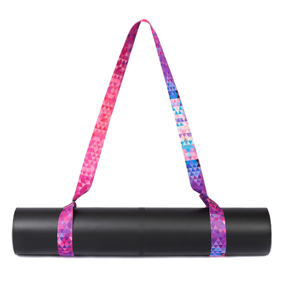 Yoga Mat Carry Strap Adjustable Shoulder Strap For Yoga Mat Sling Pilates Exercise Fitness With Feet Strap Yoga Pull Strap