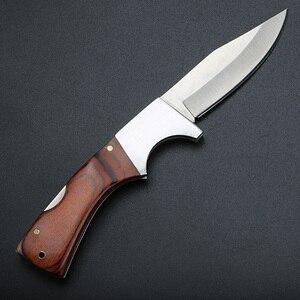 Image 2 - XUAN FENG уличный охотничий нож, нож для выживания, походный тактический нож, охотничий нож, стальной складной нож высокой твердости