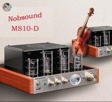Nobsound MS 10DMK نسخة مطورة من بلوتوث مُضخّم صوت حمى ستيريو preamplifier 2*25 واط AC220V مع عرض