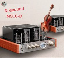 Nobsound MS-10DMK version versão atualizada do amplificador de tubo bluetooth febre amplificador estéreo 2*25w ac220v com display