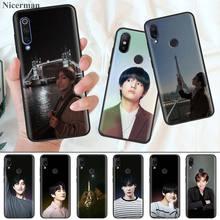 Silicone Case Coque Cover for Xiaomi Mi 9T CC9 CC9E A1 A2 A3 8 Lite Play 5X 6X Poco F1 Pocophone  Kpop Kim V Taehyung
