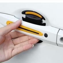 Auto Deurklink Scratch Protector Reflecterende Stickers Voor Volvo C30 C70 S40 S60 S70 S80 S90 V40 V50 V60 V70 v90 XC40 XC60 XC70