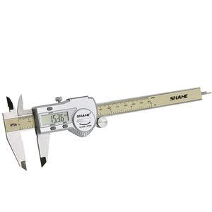 Image 4 - shahe calipers 0 150 mm vernier caliper micrometer gauge IP54 Digital Vernier Caliper Measuring tool 0.01 Digital caliper