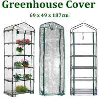 PVC Corrosion-resistant Garden Greenhouse Plant Cover Mini Garden Heater Cover Waterproof And Anti-UV Without Iron Frame