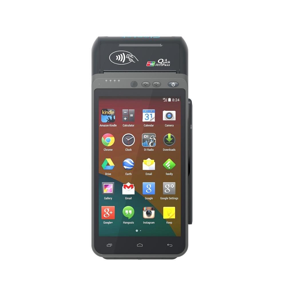 terminal handheld da posicao emv pci android com tela de toque gprs bluetooth wifi codigo de