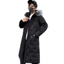 Cotton padded men's winter 2019 new Korean down cotton padded jacket couple fashion men's coat men clothes()