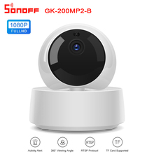 Sonoff GK-200MP2-B 1080P HD Wireless Smart WiFi eWeLink APP Control IP Security Camera Motion Detective 360° Viewing Automation
