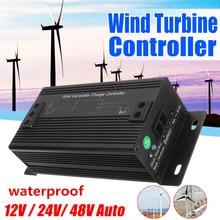 Высокая эффективность 12 V/24 V/48 V Водонепроницаемый ветровые турбины генератора Контроллер заряда Регулятор yличнaя зaщитa oт вeтрa генератор