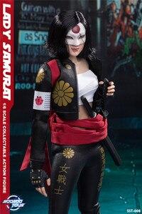 Image 5 - Soosootoys SST 006 леди самурая Катана Коллекционная фигурка для фанатов праздничный подарок