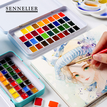 Buy 24/36 Colors Pink/White Solid Watercolor Paint Set With Iron Box 0.5ml/1ml For Drawing Watercolor Painting Pigment Art Supplies directly from merchant!