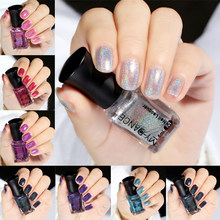 18 Kleuren Losweken Gel Polish Chameleon Sequin Iriserende Flakies Spiegel Glitter Effect Nail Art Gel Nagellak(China)