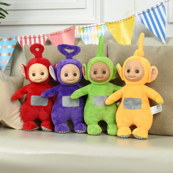 Hot Sale Teletubbies Baby Doll Cartoon Movie Plush Toys sofa backpack Home decoration Birthday christmas Gift For Children
